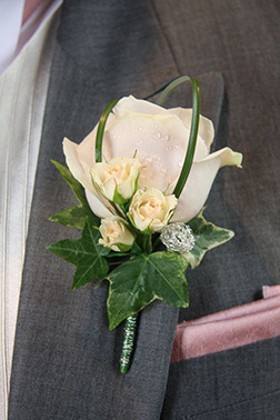 Party Favorite Boutonniere