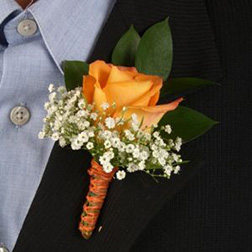 Prom King Boutonniere