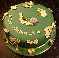 Blooming Wishes Eid Cake