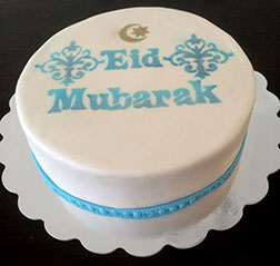 Contemporary Eid Cake