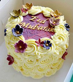 Sweet Rosette Eid Cake