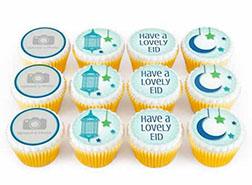 Eid Greetings Cupcakes
