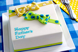 Dad's Favorite Bow Ties Cake