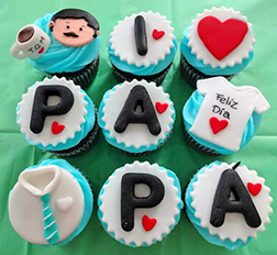 Dad's Love Cupcakes
