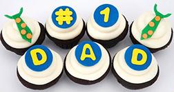 Number 1 Dad Cupcakes