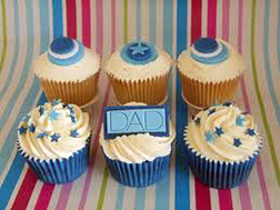 Father's Day Celebration Cupcakes