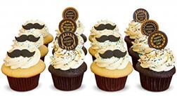Debonair Dad Cupcakes
