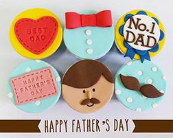Best Dad Cupcakes