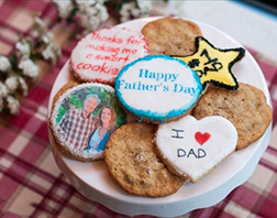Dear Dad Father's Day Cookies