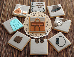 Business Dad Cookies