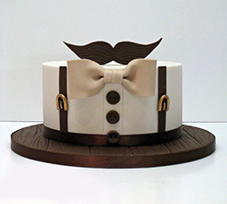 Perfect Gentleman Father's Day Cake