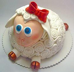 Little Lamb Eid Cake