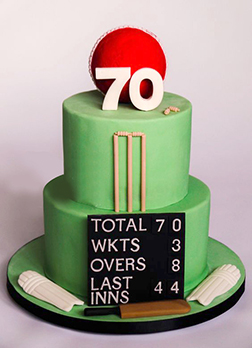 Cricket Crazy Cake