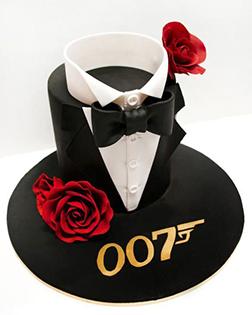 James Bond Father's Day Cake