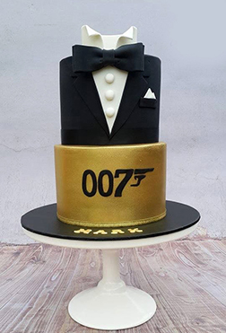 007 Father's Day Cake