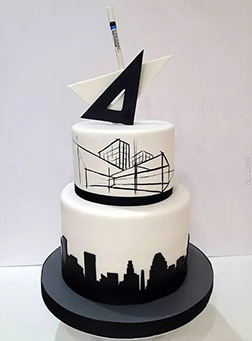 Master Architect Father's Day Cake