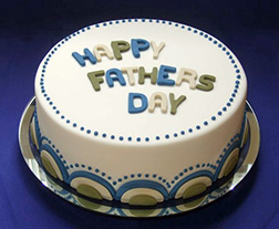Elegant Father's Day Cake