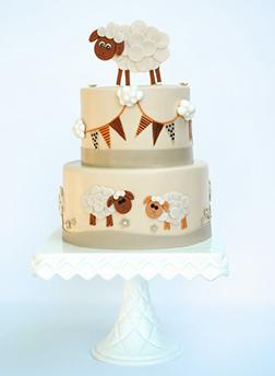 Eid Buntings Cake