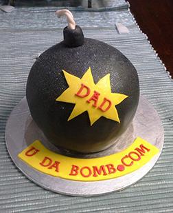 Bombastic Dad Cake