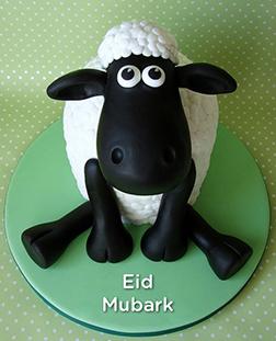 Happy Lamb Eid Cake