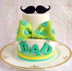 Classy Dad Tiered Cake
