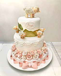 Tiered Eid Festivities Cake