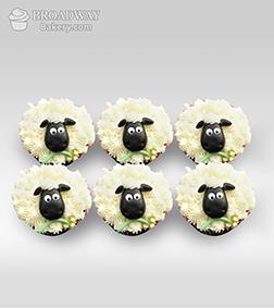 Sweet Sheep Cupcakes