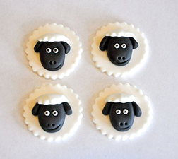 Jolly Sheep Cookies