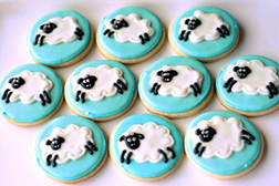 Counting Sheep Cookies