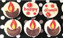 Diwali Lights Cupcakes