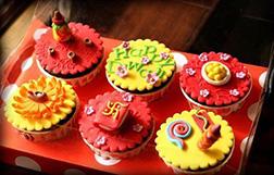 Spirit of Diwali Cupcakes