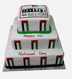 Integrity National Day Cake
