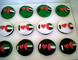 I Heart UAE Cupcakes