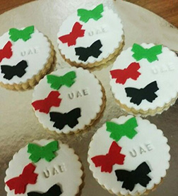 National Day Ribbon Cookies