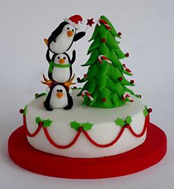 Very Merry Christmas Cake