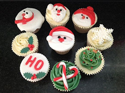 All Things Christmas - Dozen Cupcakes