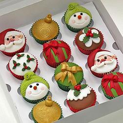 Christmas Gala - Dozen Cupcakes