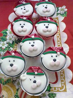 Snuggly Polar Bears - Dozen Cupcakes