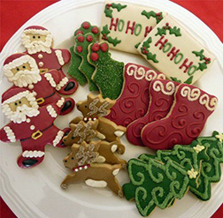 Ho Ho Ho Assorted Cookies