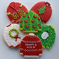 Christmas Sweater cookies