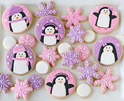 Christmas Penguin Cookies