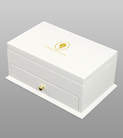 White Deluxe Cabinet By Annabelle Chocolates