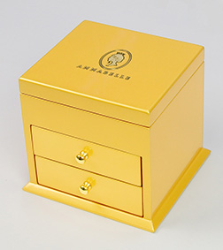 Gold Luxe Cabinet By Annabelle Chocolate