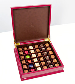 Red Grand Chest By Annabelle Chocolates