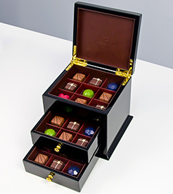 Black Luxe Cabinet By Annabelle Chocolate