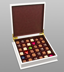White Grand Chest By Annabelle Chocolates