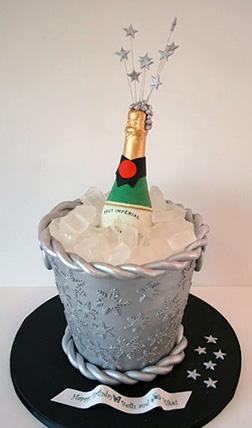 Bubbly Bucket Cake