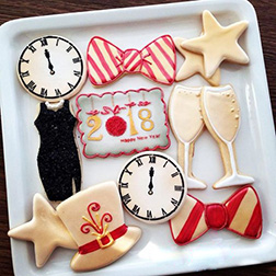 Grand New Year Party Cookies