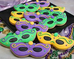 Fancy Masquerade Cookies