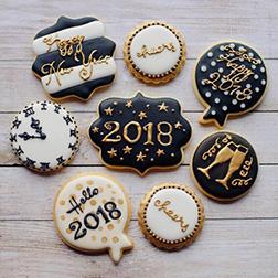 Prosperous New Year Cookies